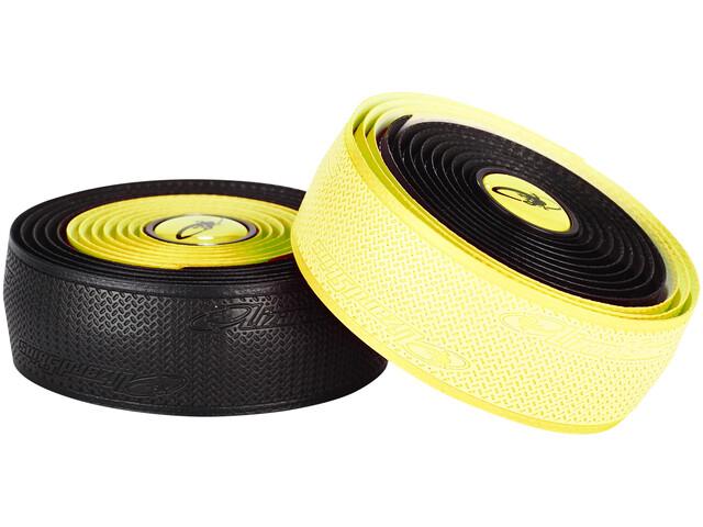 Lizard Skins DSP Dual - Cinta manillar - 2,5mm amarillo/negro